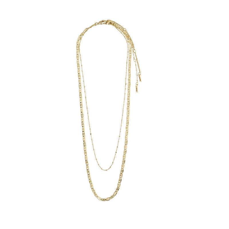 Pilgrim - Intuition Necklace - Gold Plated
