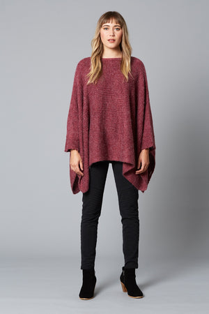 Isle of Mine - Soulful Poncho - Magenta