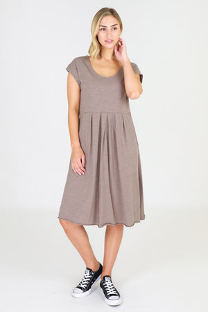 3rd Story - Evelyn Dress - Latte