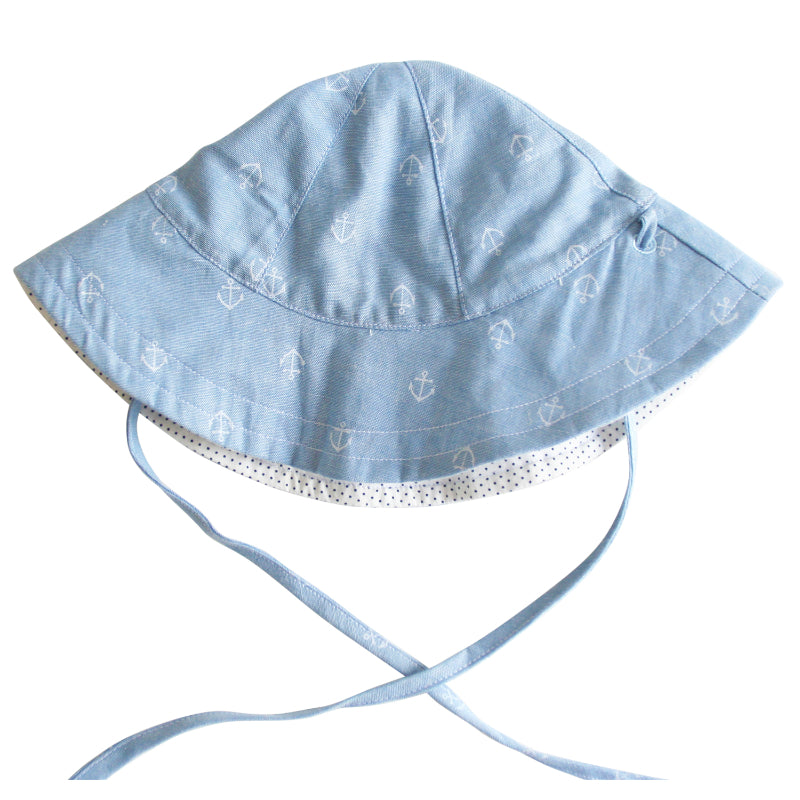 Alimrose Anchors Infant Sun Hat