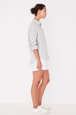 Assembly Label - Xander Long Sleeve Shirt - Seafoam