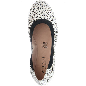 Walnut Melbourne - Ava Pony Ballet - Mini White Black Spot