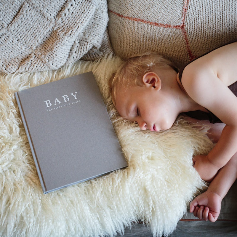 Write to Me - Baby Journal - Birth to Five Years (Grey)