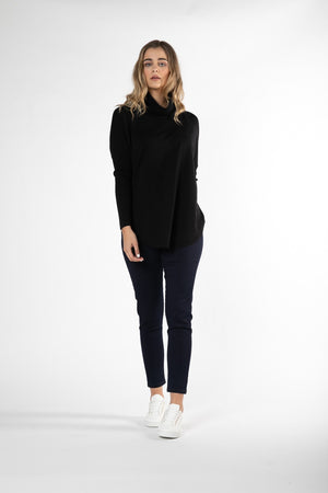 Betty Basics - Fleur Knit Jumper - Black
