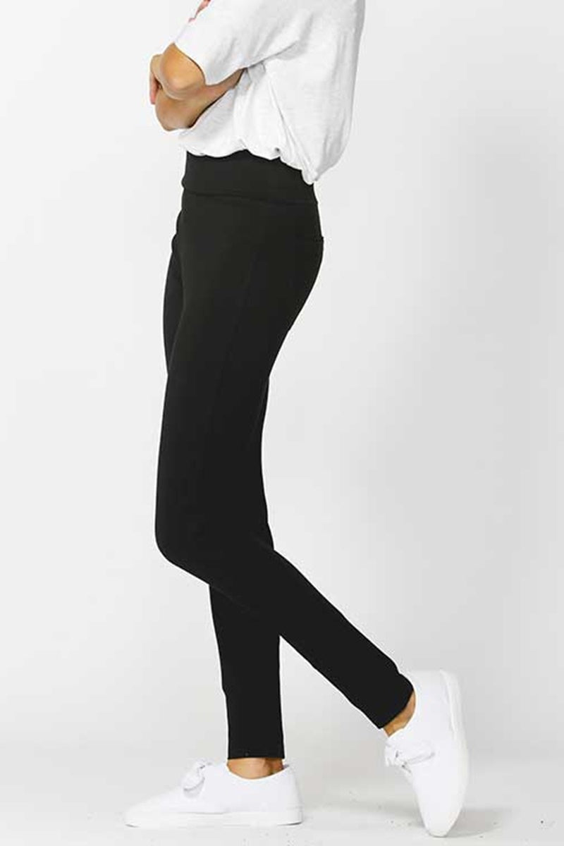 Betty Basics - Frankie Ponte Pant - Black