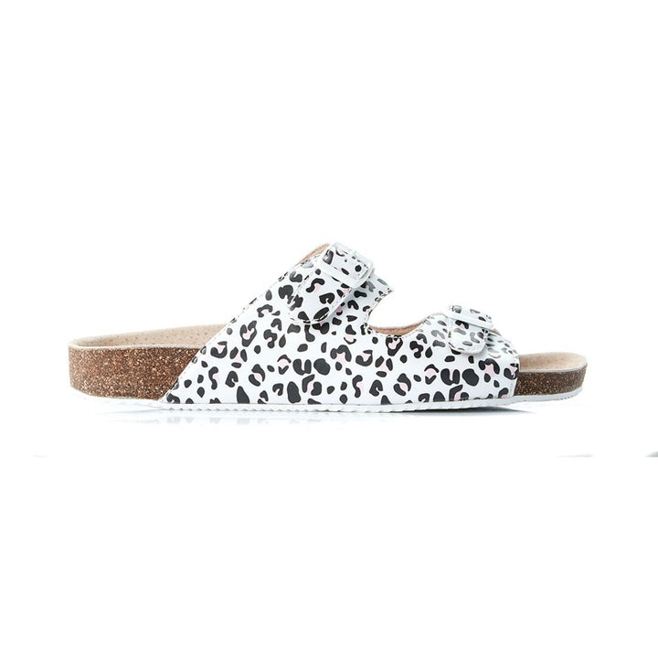 Walnut Melbourne - Bailey Slide - Leopard White