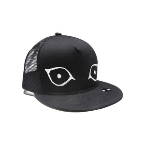 Band of Boys Cap Mesh Trucker Cat Eyes in Black