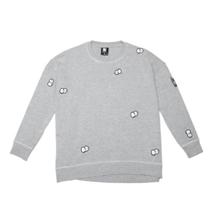 Band of Boys Organic Kids Jumper Eyes in the Dark in Grey Marle