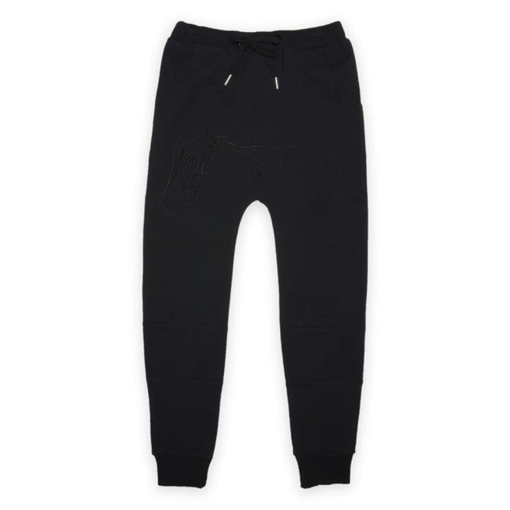 Band of Boys Organic Kids Trackies Band of Spray in Black