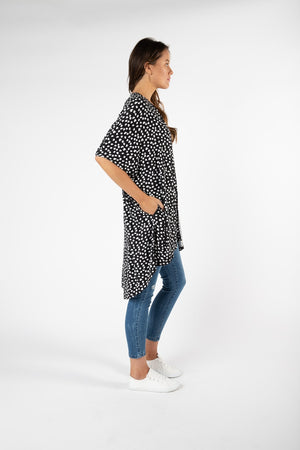 Betty Basics - Valencia Cardigan - Heart Ocelot