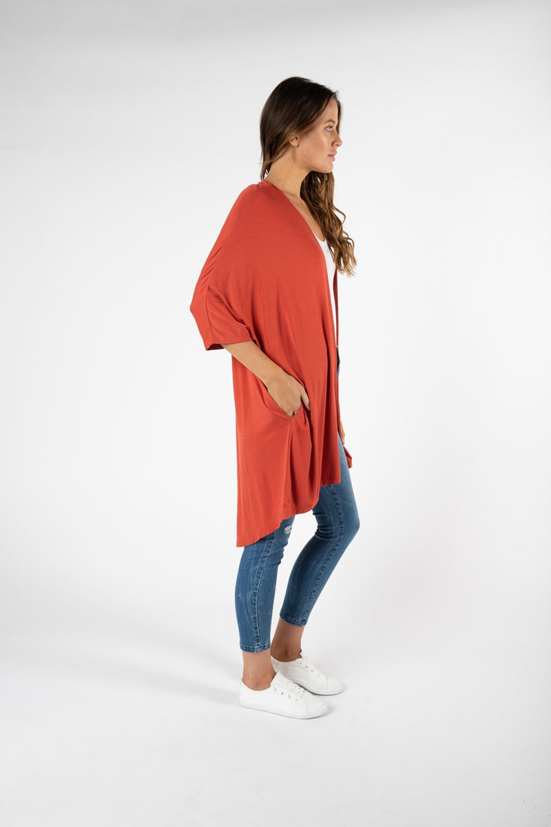 Betty Basics - Valencia Cardigan - Sunset