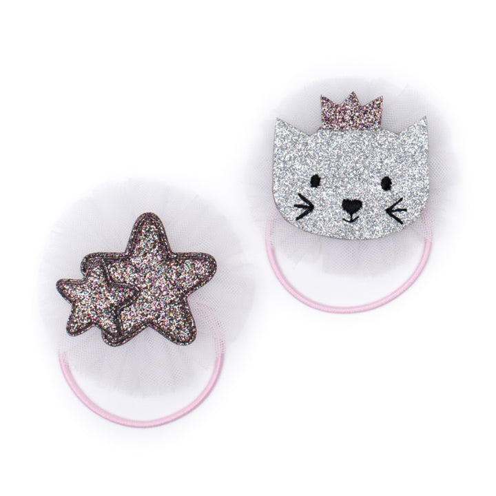 Billy Loves Audrey Ballet Cat & Star Elastic Duo