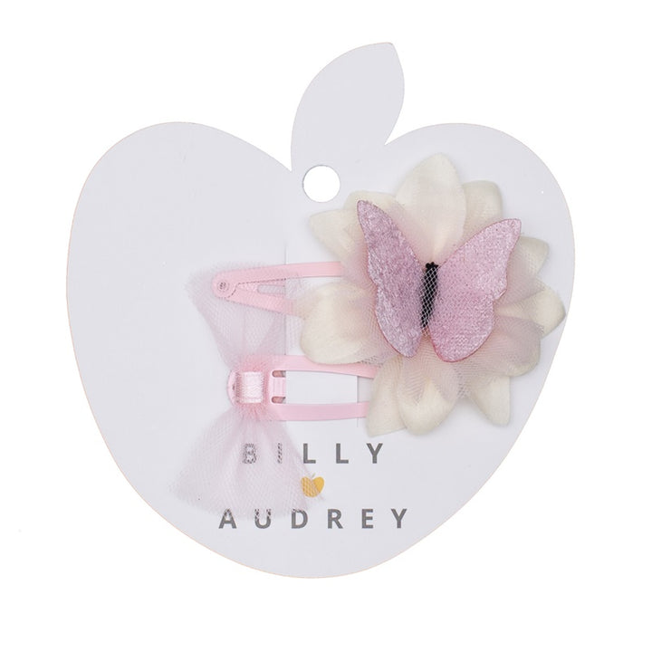 Billy Love Audrey - Butterfly Clip Set