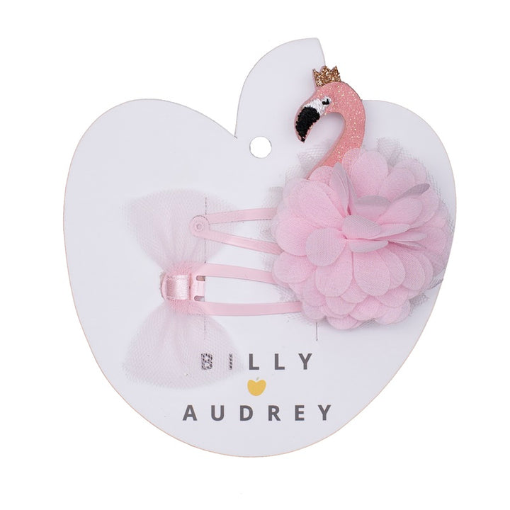 Billy Love Audrey - Flamingo Clip Set