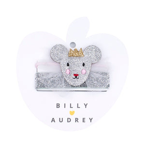 Billy Loves Audrey - Princess Mouse Hair Elastic Duo