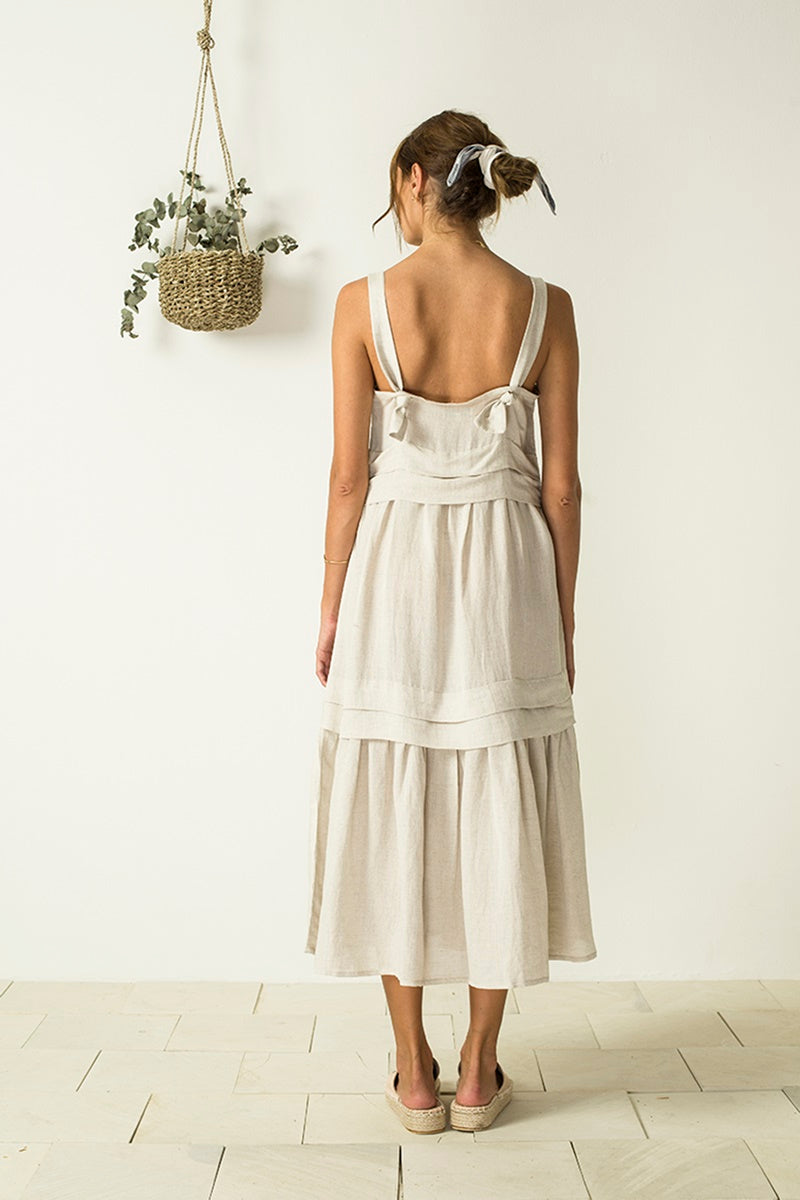 Bird & Kite - Renata Dress - Natural