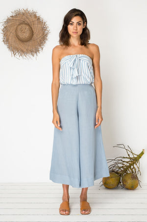 Bird & Kite Ticket to Ride Culottes in Mineral Blue