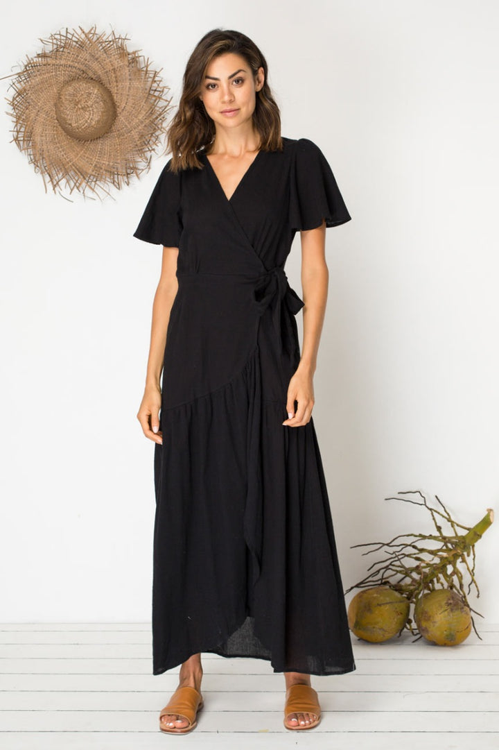 Bird & Kite Return to Eden Dress in Black
