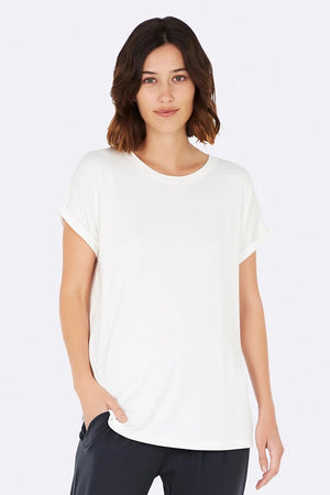 Boody - Downtime Lounge Top - Natural White