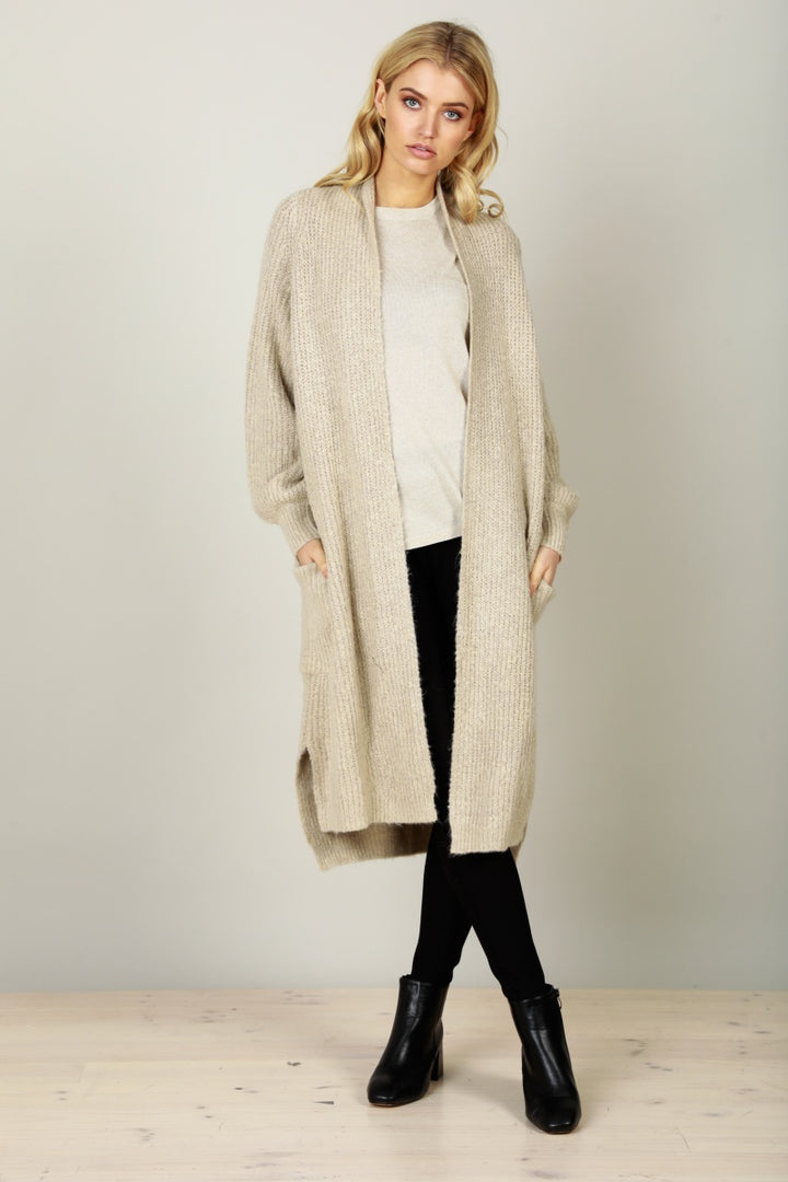 Brave & True Montafon Cardigan in Natural