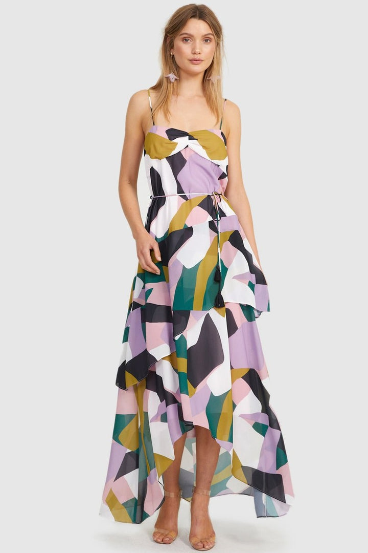 Cooper St - Sunset Maxi Tie Dress