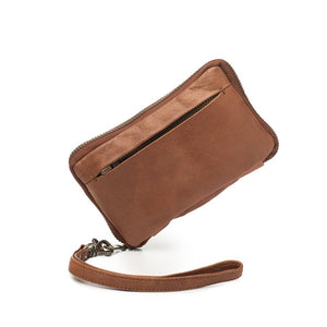 Dusky Robin Jean Small Purse in Brown
