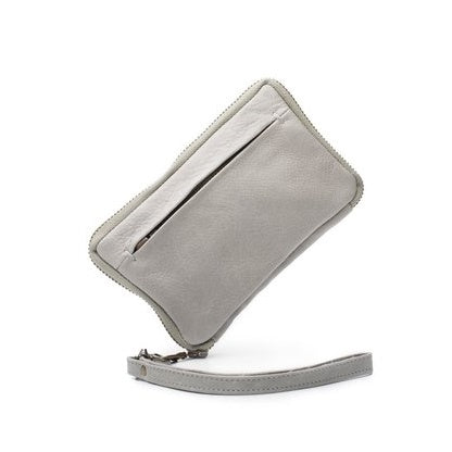 Dusky Robin Jean Small Purse in Light Grey