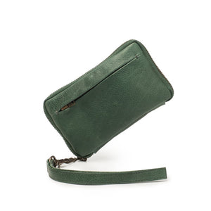 Dusky Robin Jean Small Purse in Pine Green