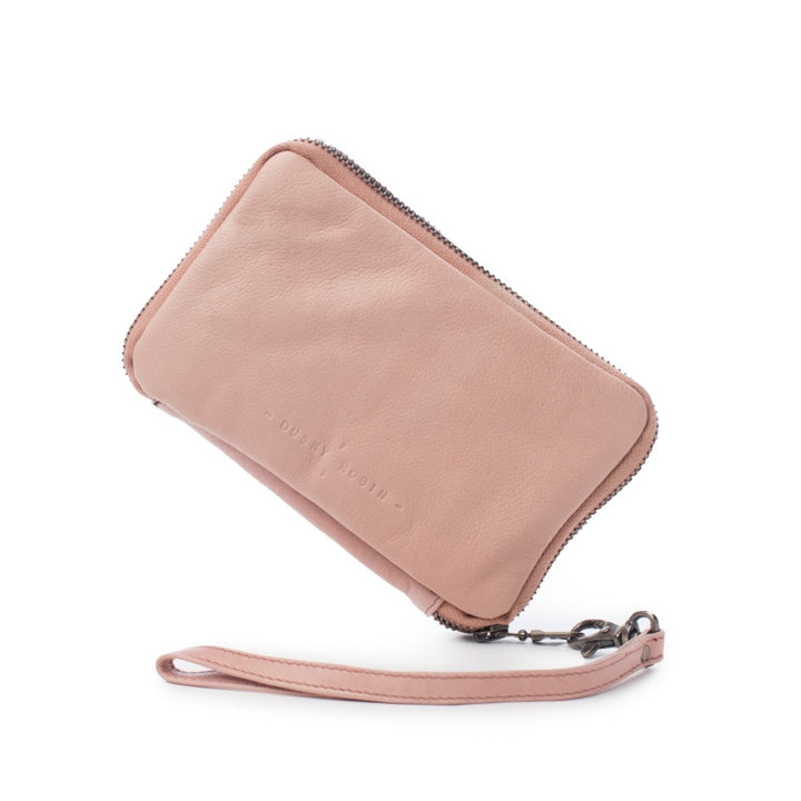 Dusky Robin Jean Medium Purse in Dusky Pink