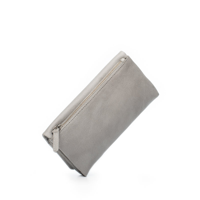 Dusky Robin Keiva Purse in Light Grey