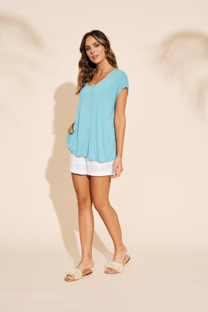 Eb & Ive - Ruma Top - Sage