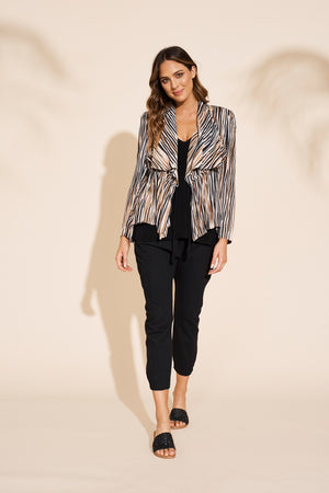 Eb & Ive  - Savannah Jacket - Zebra
