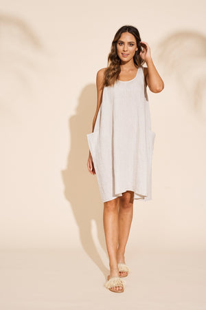 Eb & Ive - Serengeti Tank Dress - Sahara