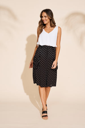 Eb & Ive - Zuma Skirt - Black