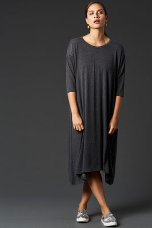 Eb & Ive Lavau Dress in Raven