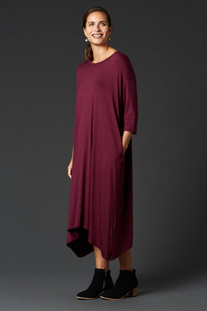 Eb & Ive Lavau Dress in Shiraz