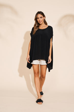 Eb & Ive - Savannah Top - Black