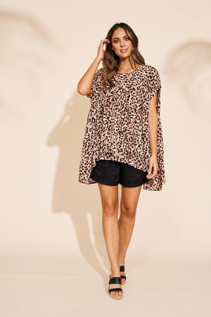 Eb & Ive - Savannah Top - Leopard
