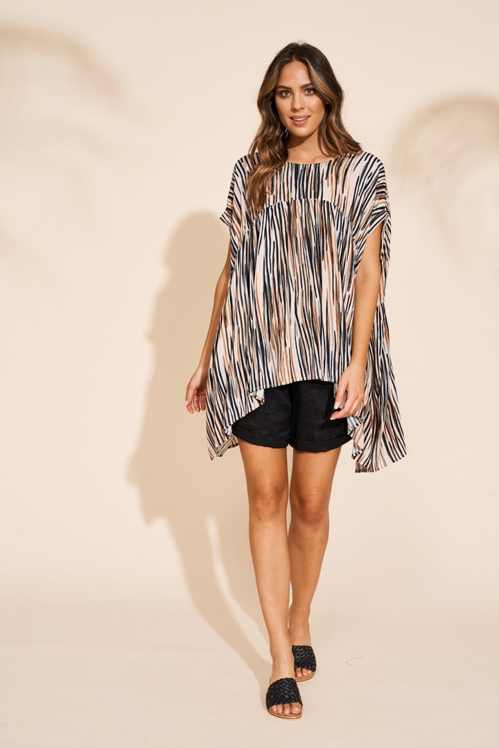 Eb & Ive - Savannah Top - Zebra
