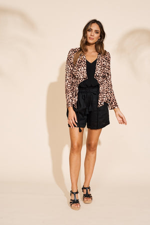 Eb & Ive - Savannah Jacket - Leopard