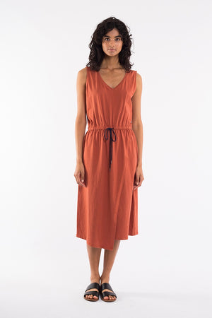 Elm - Solsana Asymmetric Dress - Bronze