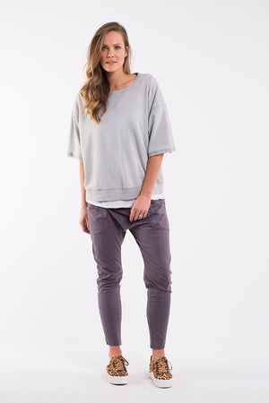 Elm - Binalong Bay Crew - Grey
