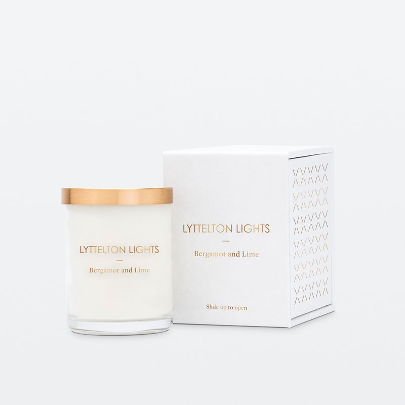 Lyttelton Lights Small Candle Bergamot and Lime