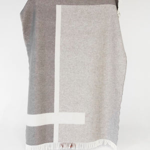 Forestry Wool - Bauhaus Grey 100% Woollen Blanket
