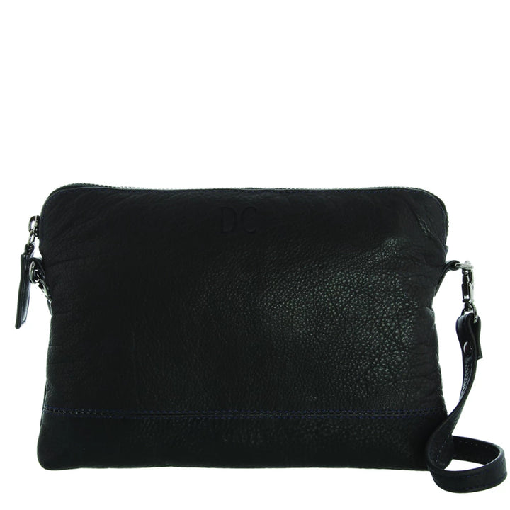 Gabee Holly Leather Crossbody Bag in Black