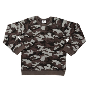 Hoot Kid Hide Out Sweater in Washed Camo