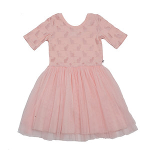 Hoot Kid The Best Dress in Ballet Pink & Rose Gold