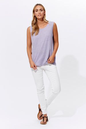 Isle of Mine Inez Tank in Lilac