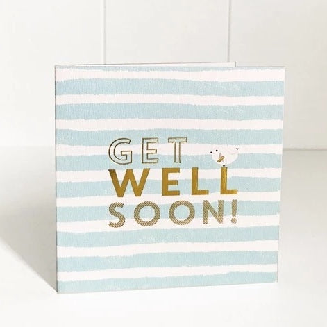 Just Smitten Mini Gift Card - Get Well