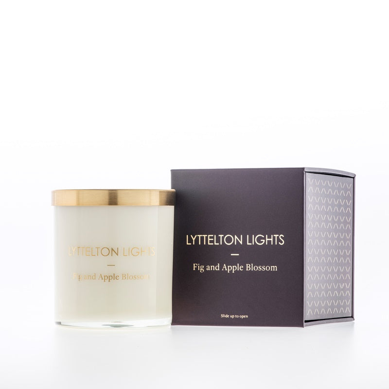 Lyttelton Lights Medium Candle Fig and Apple Blossom